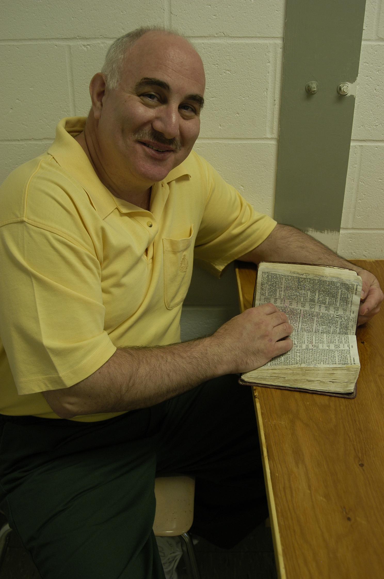 david b opening bible